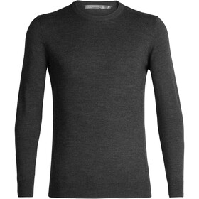 Icebreaker Shearer Sweat Col Ras-Du-Cou Homme, char heather